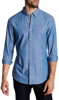 Farah Stampton Long Sleeve Slim Fit Shirt