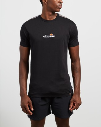 Ellesse Men's Black T-Shirts - Carcano Tee - Size S at The Iconic