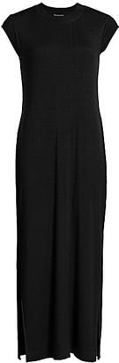 Splendid Ribbed Short-Sleeve Dress