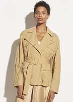 Belted Drape Jacket