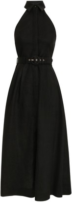 Zimmermann Bonita Halterneck Long Dress