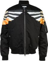 Givenchy patch-detail bomber jacket - men - Cotton/Nylon - M