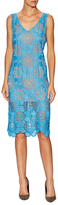 Tracy Reese Deconstructed Lace Knee Length Dress