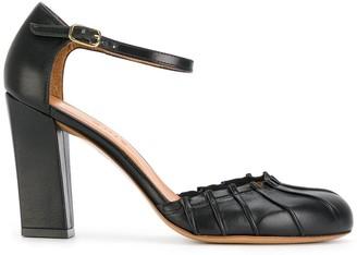 Chie Mihara Grisa pleated pumps