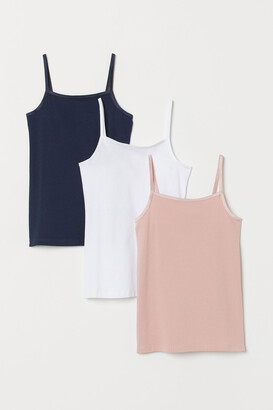 H&M 3-pack Camisole Tops