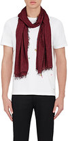 Paul Smith Men's Heart-Print Scarf-RED
