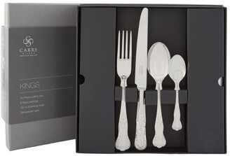Carrs of Sheffield Silver Kings Cutlery Set (24 Pieces)