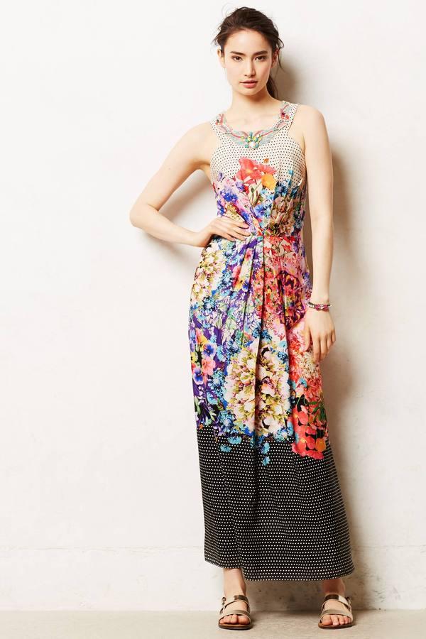 Anthropologie Ranna Gill Arnala Maxi Dress