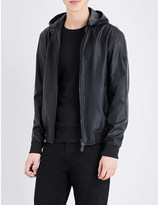 Armani Jeans Faux-leather jacket