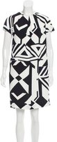 Max Mara Printed Shift Dress w/ Tags