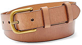 Fossil Double Leather Keeper Belt