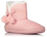 George Fleece-Lined Slipper Boots