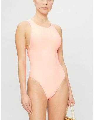 Seafolly Capri high-neck swimsuit