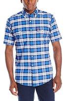 U.S. Polo Assn. Men's Short Sleeve Plaid Sport Shirt