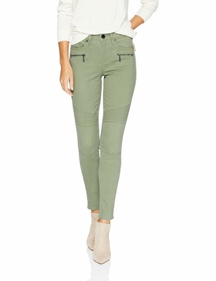 Seven7 Women's Mid Rise Utility Ankle Skinny