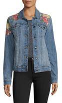 Joe's Jeans Embroidered Denim Jacket