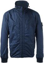 Stone Island high neck jacket - men - Polyamide/Polyurethane Resin/Cotton - S