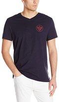 Nautica Men's Sailing Graphic V-Neck T-Shirt