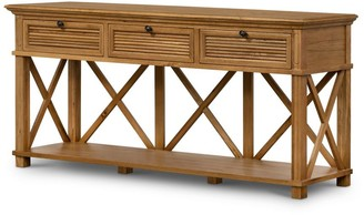 One World Henley 3 Drawer Console Natural