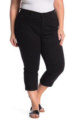 NYDJ Slit Side Seam Capri Jeans (Plus Size)