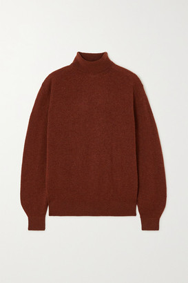 KHAITE Julie Cashmere-blend Turtleneck Sweater - Brown