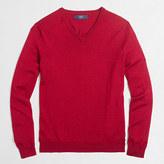 J.Crew Factory Slim merino wool V-neck sweater