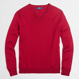 J.Crew Factory Tall merino wool V-neck sweater