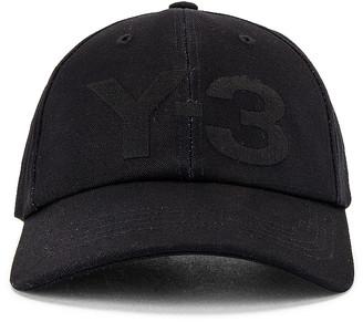 Yohji Yamamoto Logo Cap in Black | FWRD