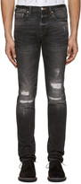 Paul Smith Black Slim Tapered Jeans