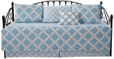 """Monroe Serenta 6 Piece Quilted Daybed Set, Light Blue, Daybed (75"""" X 39"""")"""