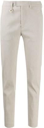 Lorena Antoniazzi Tapered Linen Trousers