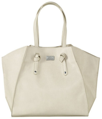 Isoki Easy Access Tote Baby Bag White