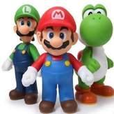Baby Toy Gift Sets New 3pcs Nintendo Super Mario Bros Luigi Mario Action Figures Toys Gift