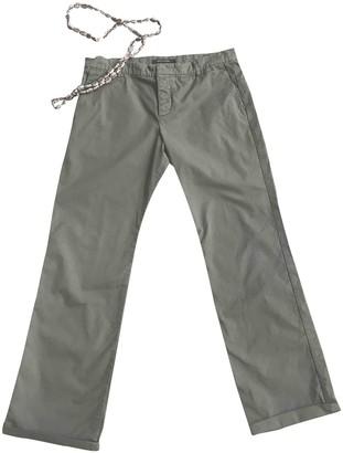 Sofie D'hoore Sofie Dhoore Khaki Cotton Trousers for Women