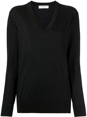 Givenchy Side Buttons Jumper