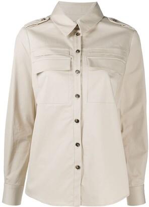 BA&SH Oasis buttoned shirt
