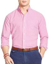 Polo Ralph Lauren Gingham Seersucker Regular Fit Sport Shirt