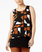 Alfani Layered-Look Top, Created for Macy's
