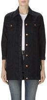 J Brand Maxi Jacket In Seductive