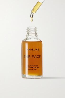 Tan-Luxe The Face Illuminating Self-tan Drops - Medium/dark, 30ml