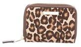 Tiffany & Co. Leopard Print Cardholder