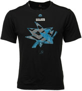 Majestic Men's San Jose Sharks Solid Win Synthetic T-Shirt