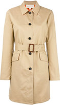MICHAEL Michael Kors button up belted jacket - women - Cotton - XS
