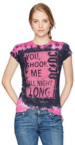Liquid Blue Women's Ac/dc Shook Me All Night Long Graphic Tee