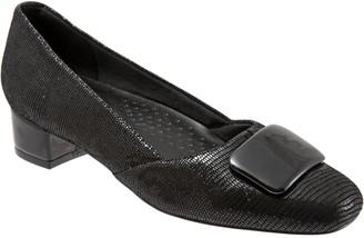 Trotters Stylish Low Heel Pumps - Delse