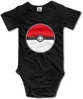 Anyway Newborn Infant\r\n Pokemon Go Ball Pokeball Poke Ball Game Baby Onesie Bodysuit