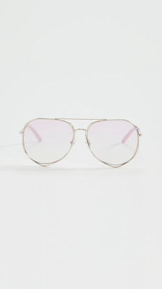 Linda Farrow Luxe x Mathew Williamson Aviator Sunglasses