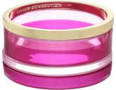French Connection Set of 4 Color Block Bangle