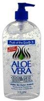 Fruit of the Earth Aloe Vera 100% Gel 24 oz (Pack of 3)