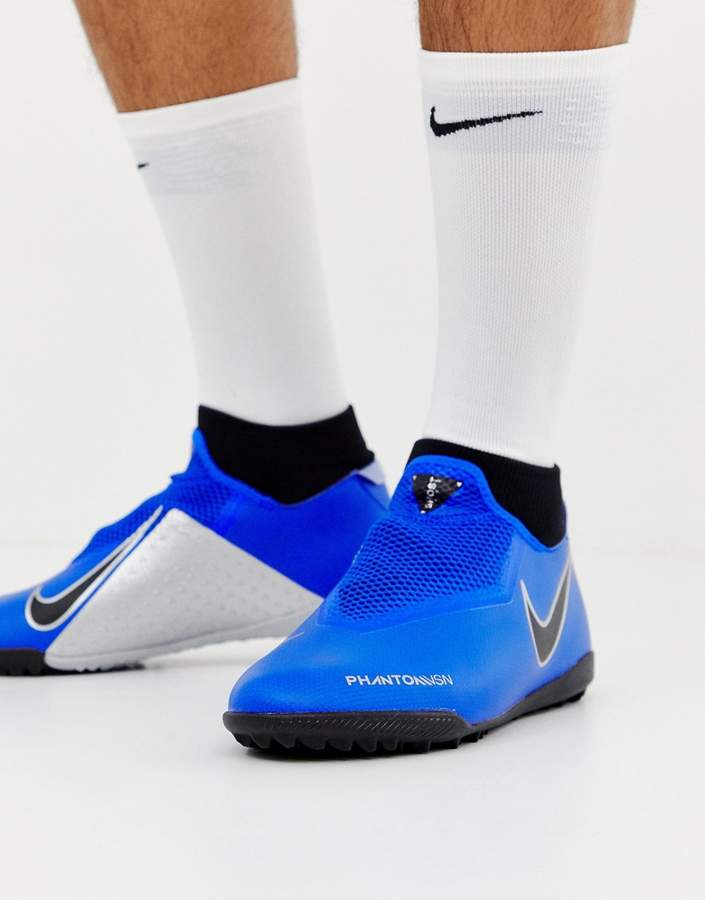 Nike Football Phantom Academy Astro Turf Sneakers In Blue AO3269-400
